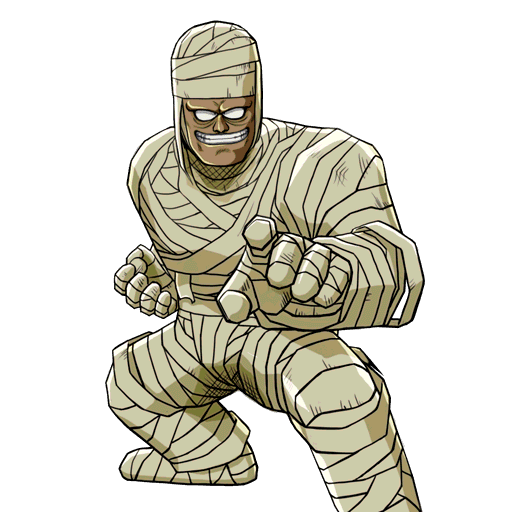 Mummy transparent real. Png vector clipart psd