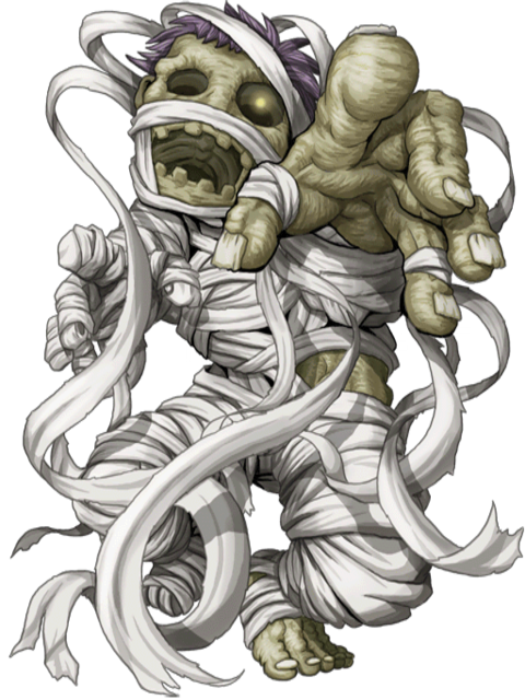 Mummy transparent rpg. Image yellow lord png