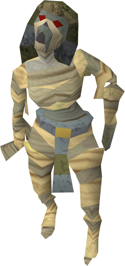 mummy transparent runescape