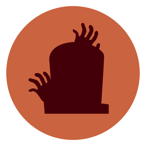 Mummy transparent tombstone. Hands circle icon png