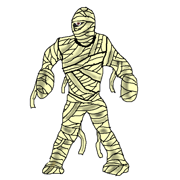 mummy transparent tut