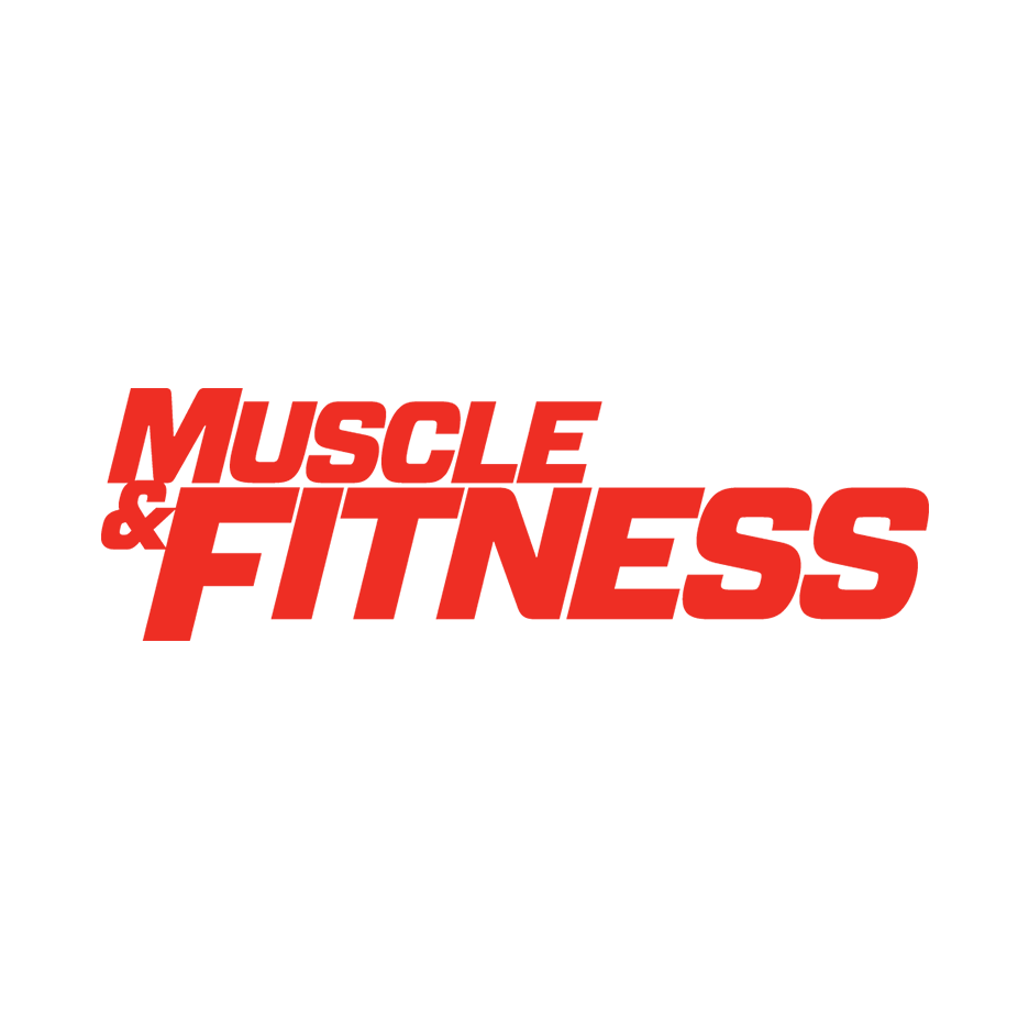Muscle and fitness logo png. Kahnsepts muscleandfitnesslogosquarepng