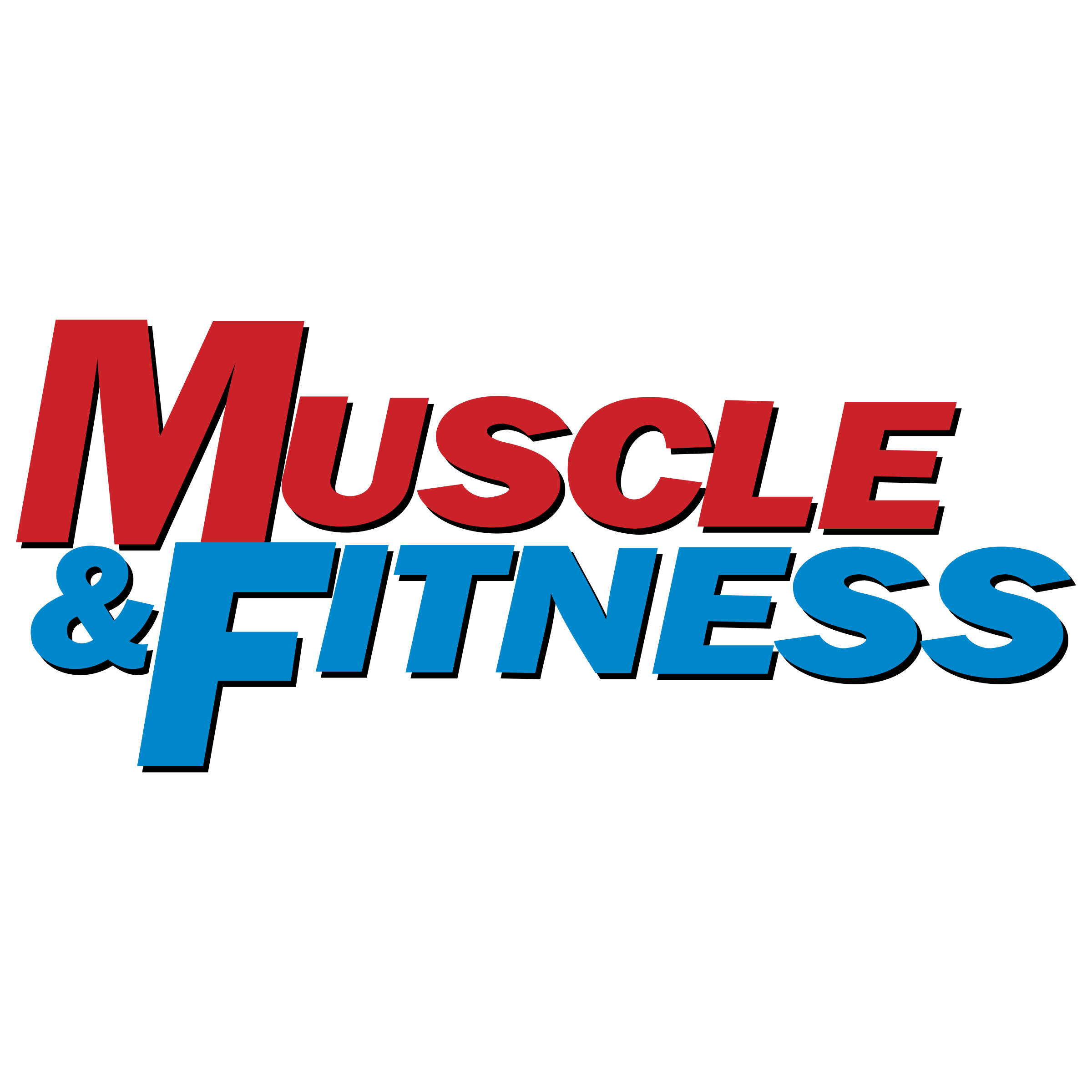 Muscle logo png. Fitness transparent svg vector