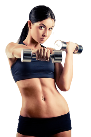 Muscle arm woman png. Buy bone broth protein