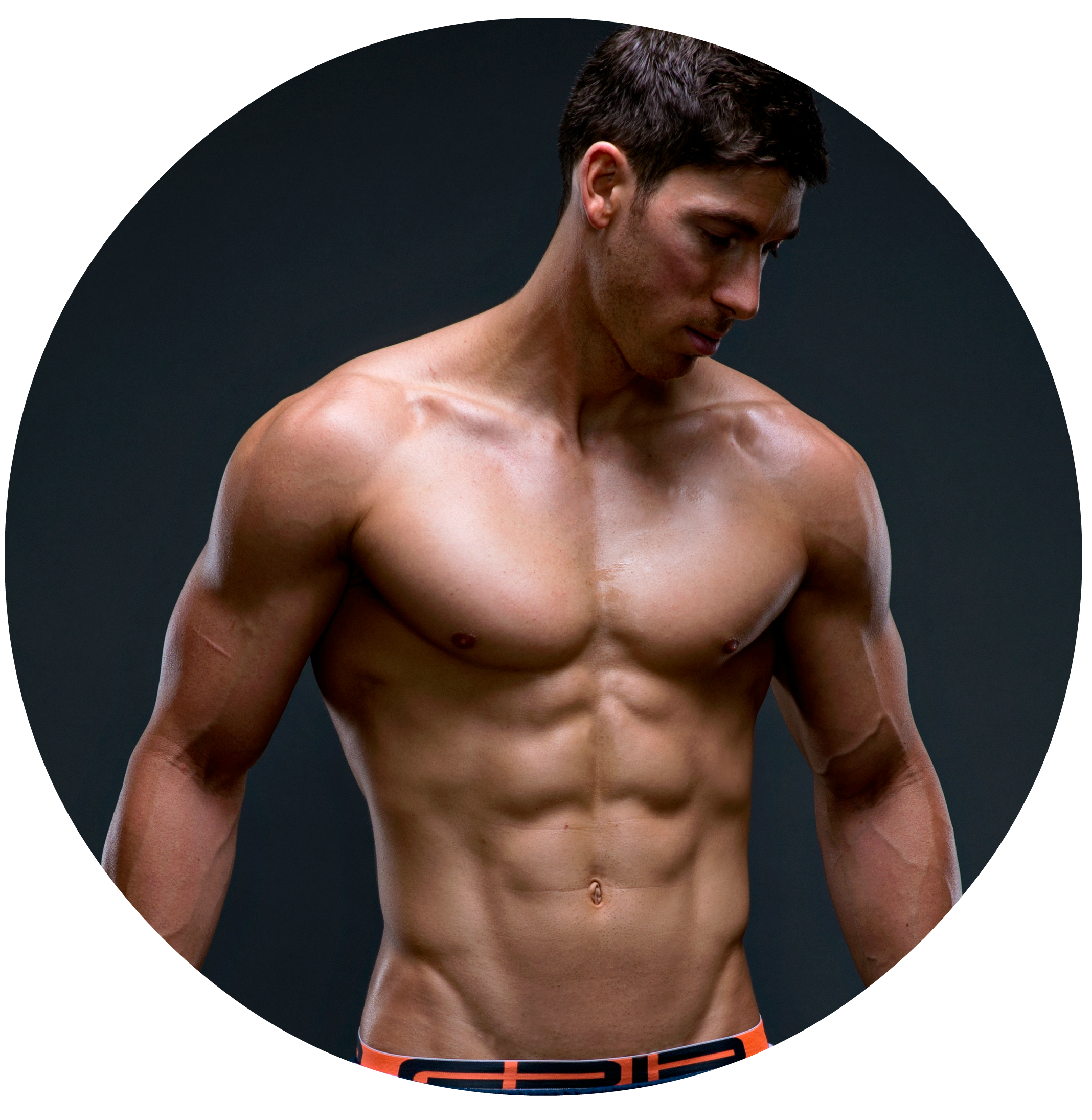 Muscle body gun png. Athletic aesthetic workout vault