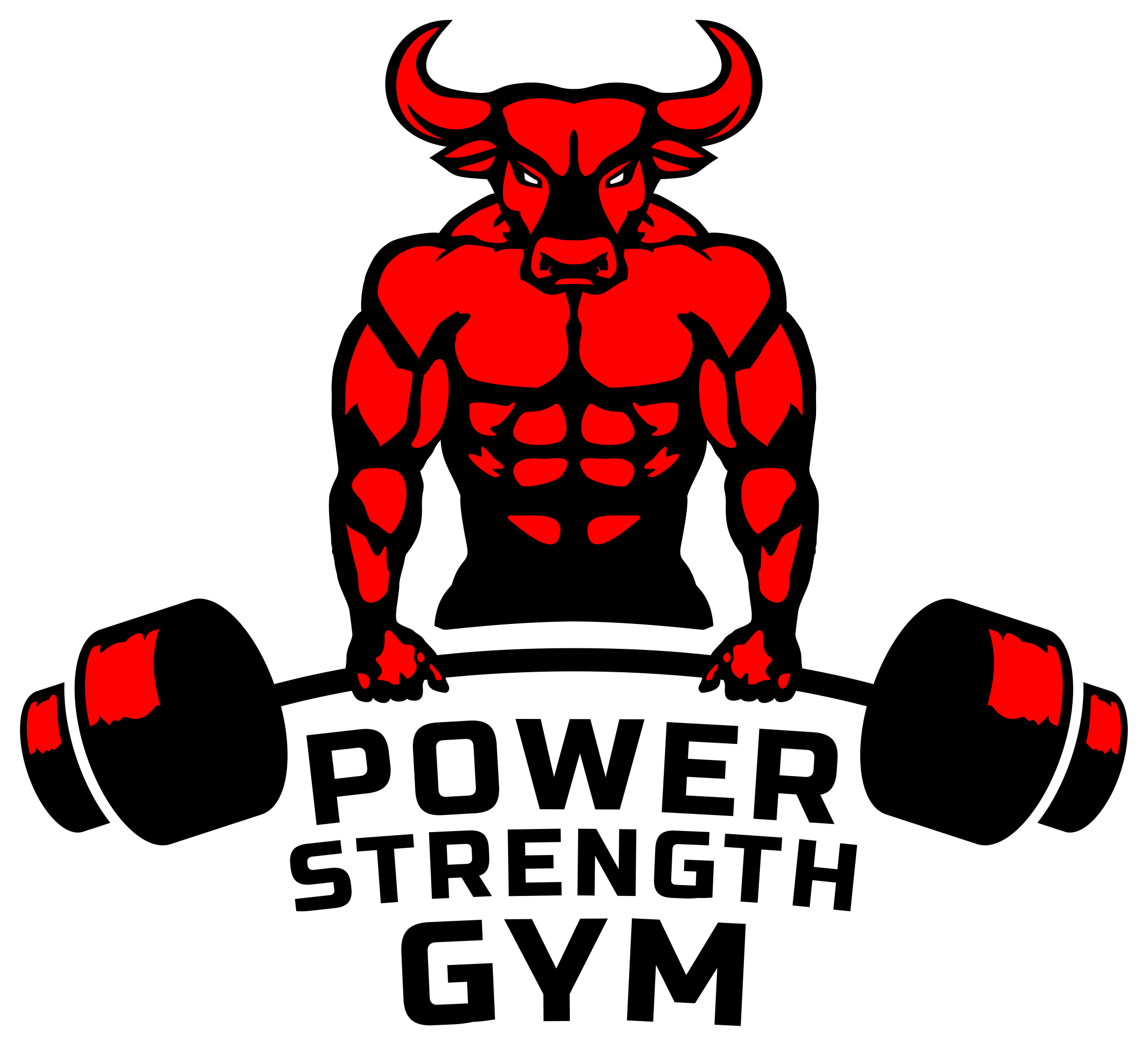 muscle and fitness logo png
