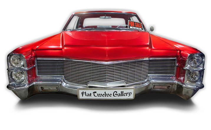 Cadillac vector muscle car front. Cars for sale