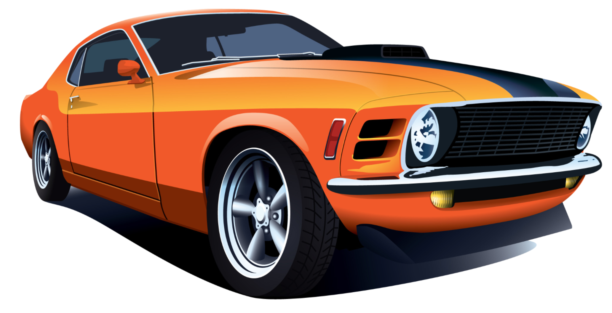 Muscle car burning out png. Used cars new specs