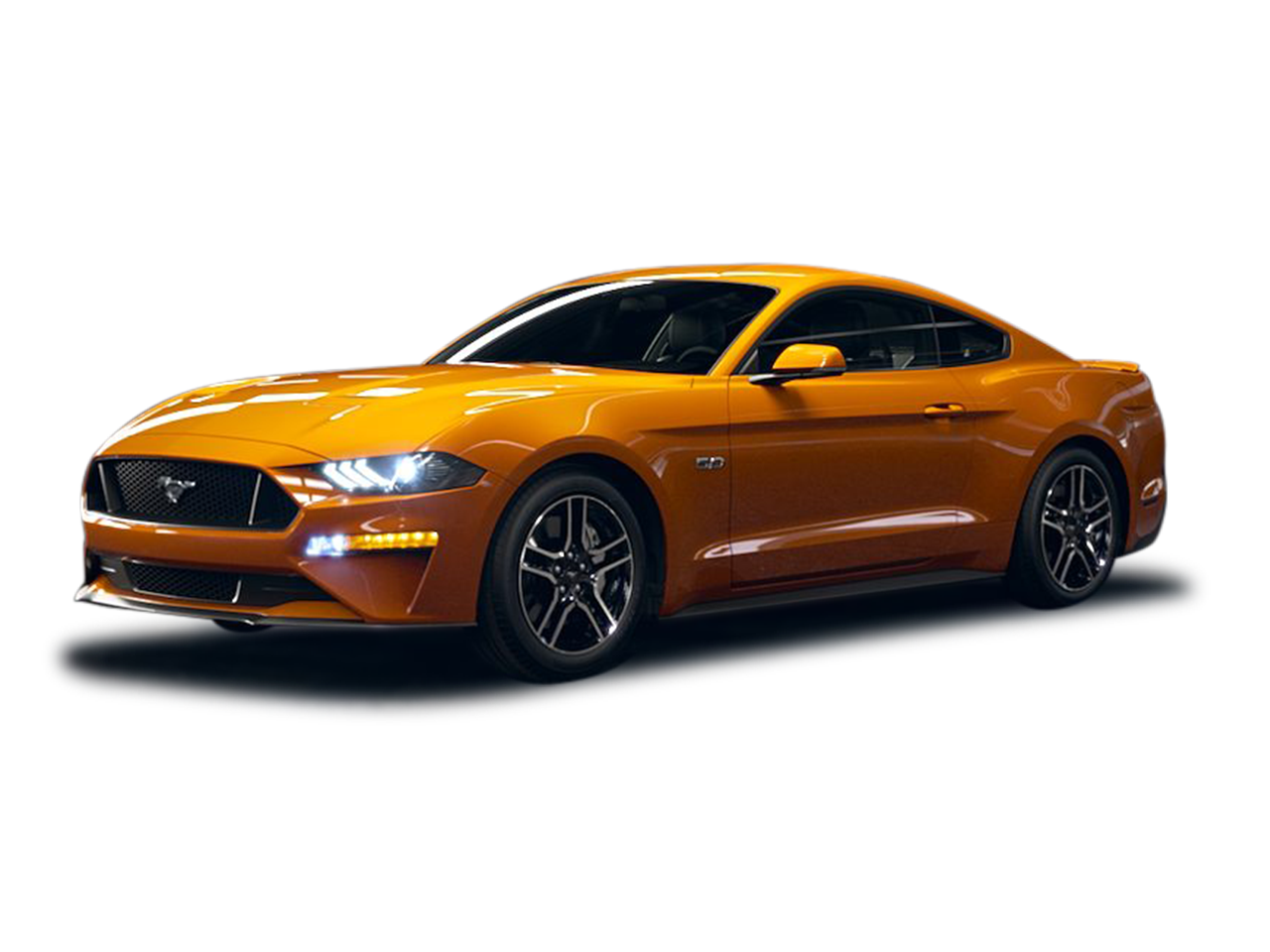 Muscle car exhaust png. Ford mustang for