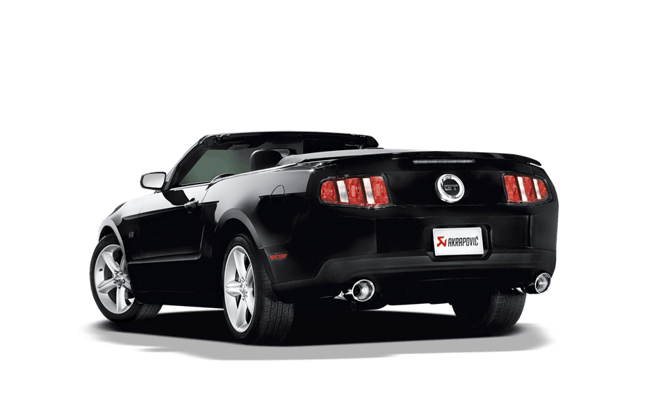 Muscle car exhaust png. Akrapovic ford mustang gt