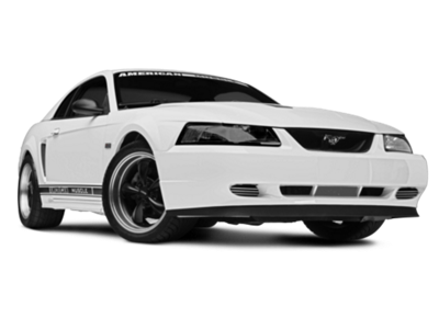 Muscle car exhaust png. Mustang gt premium style