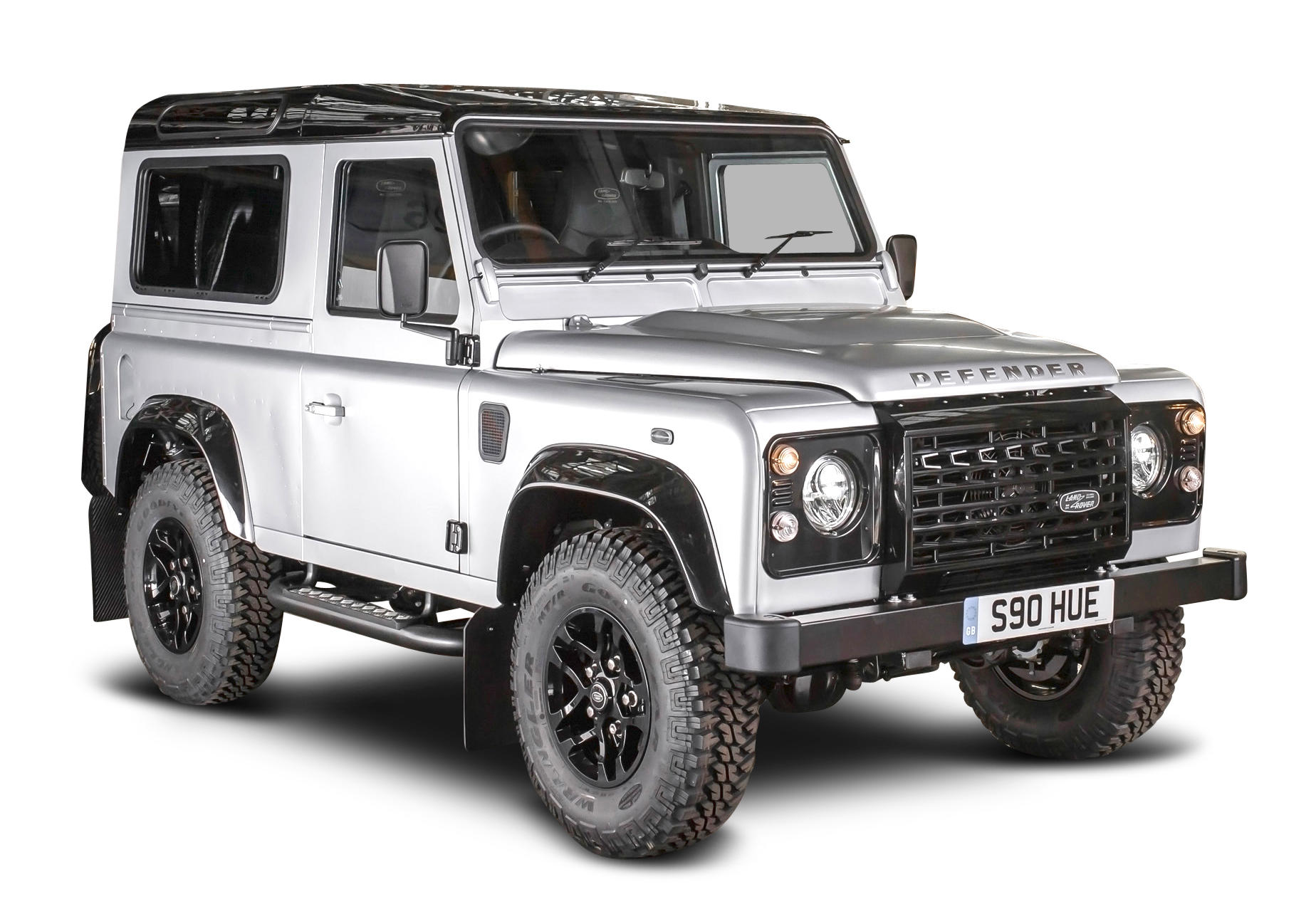 Muscle cars png file black and white. Land rover defender car