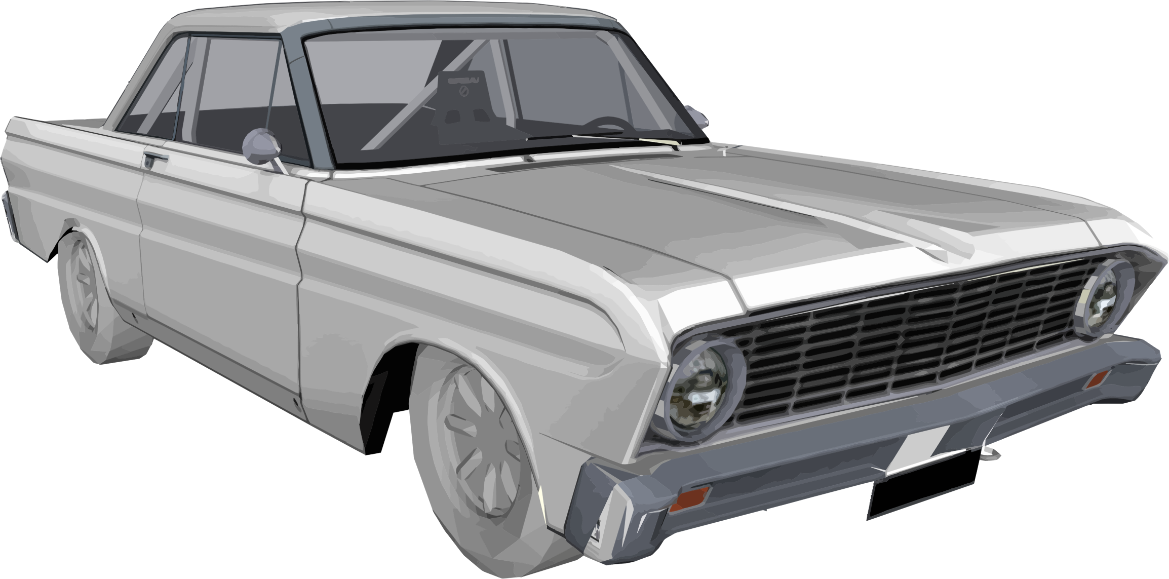 Muscle clipart falcon. Ford icons png free