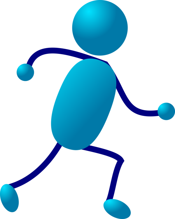 Muscle clipart stickman. Stick figure running drawing