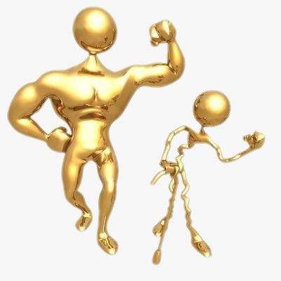 Muscle clipart stickman. D three dimensional
