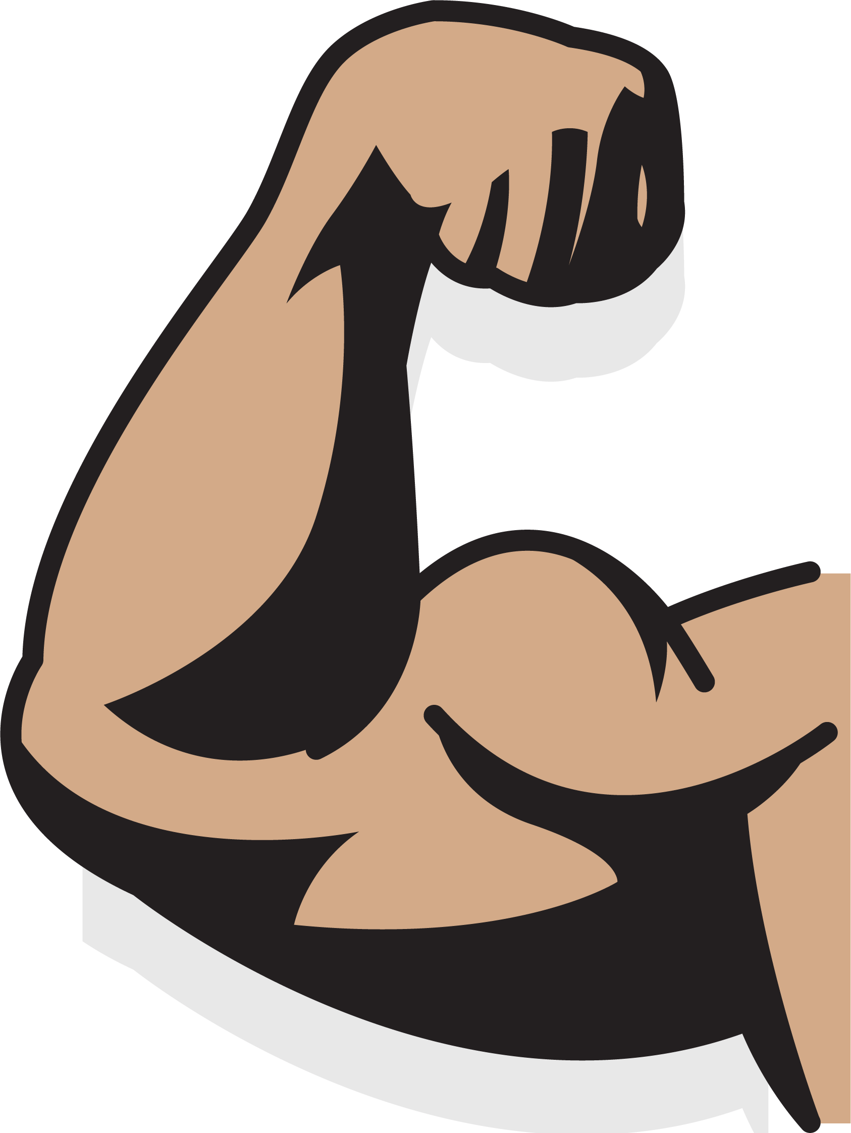 Muscle drawing png. Augu delms arm a