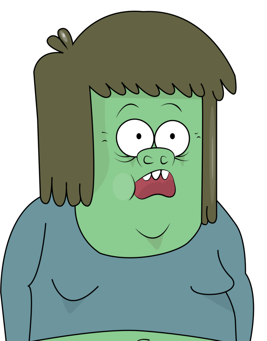 Muscle man regular show png. Dude by karmakira on