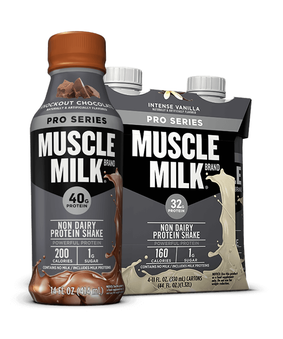 Muscle milk png. Pro series protein shake