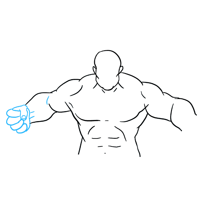 Muscles clipart drawing arm. How to draw the