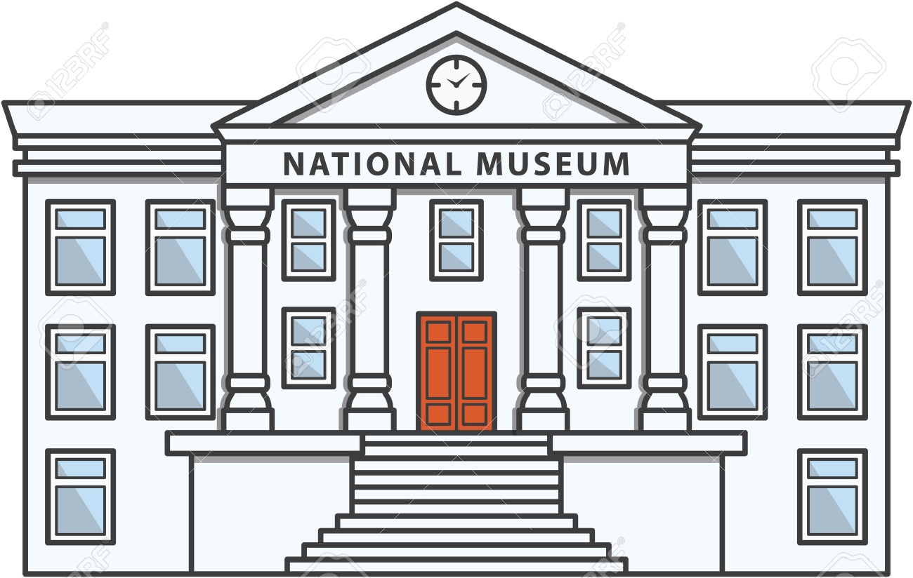 Museum clipart. Fresh collection digital coloring