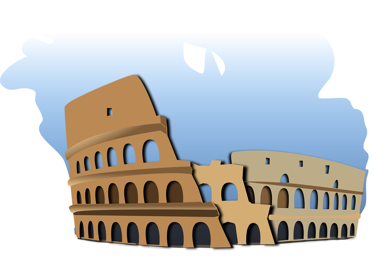 Museum clipart building roman. Italy coliseo roma rome