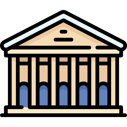 Museum clipart building roman. Free buildings icons icon