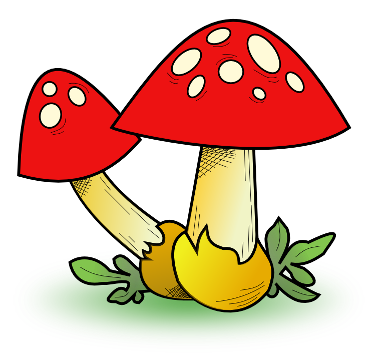 Mushrooms clipart. Free mushroom cliparts download