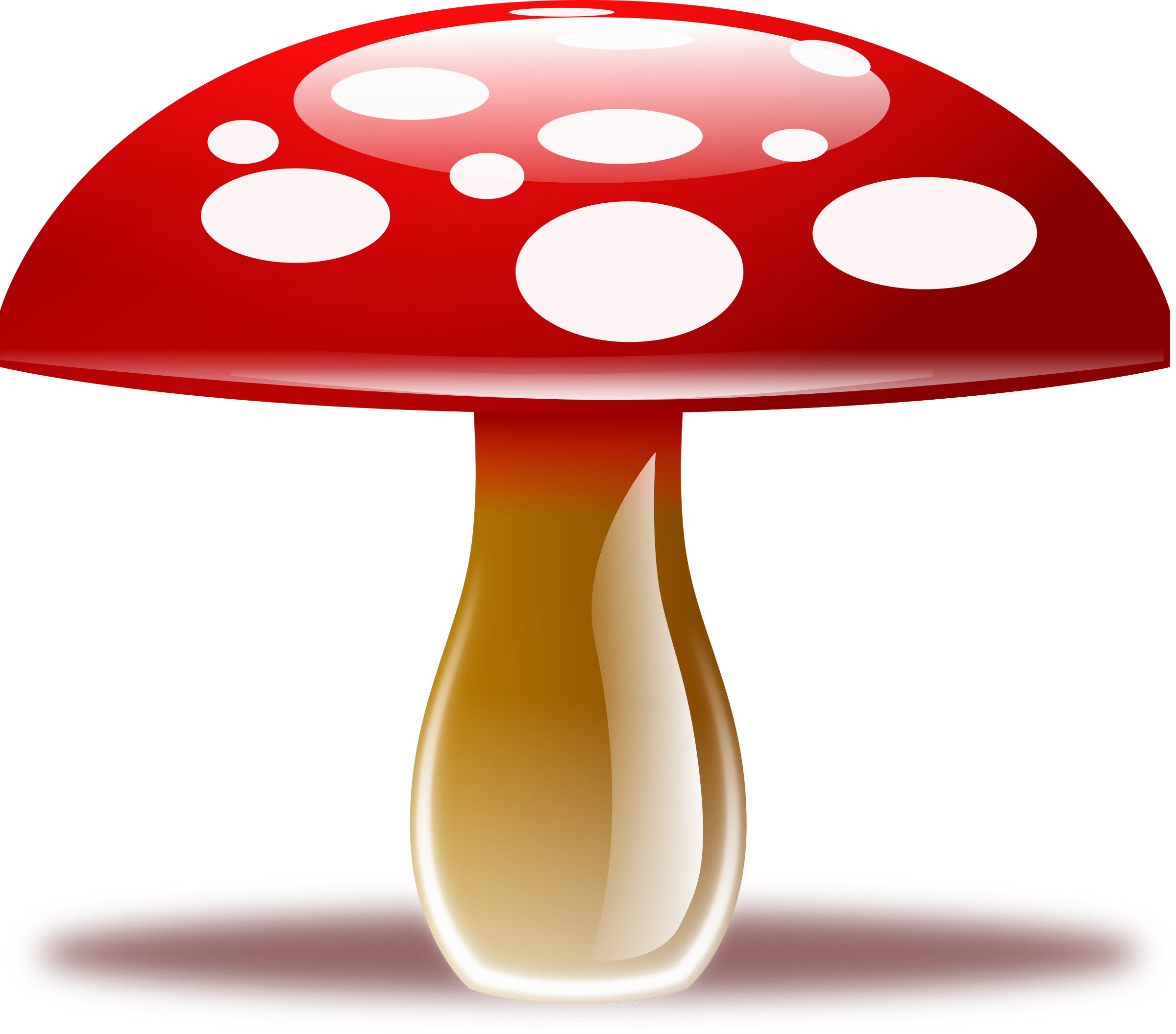 Red mushroom png. Clipart free icons and