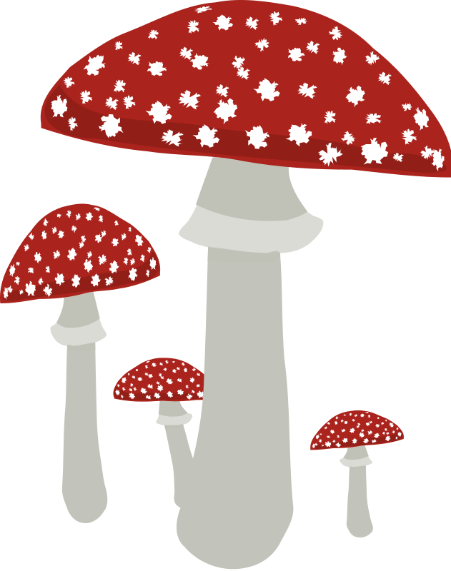 Mushroom clip graphics clipart. Mushrooms vector art jpg royalty free library