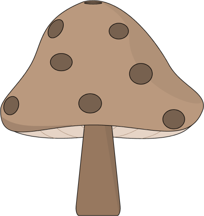 Mushrooms clipart. Free magic cliparts download