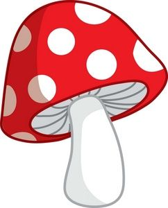 Mushrooms clipart. Cute cartoon mushroom pictures