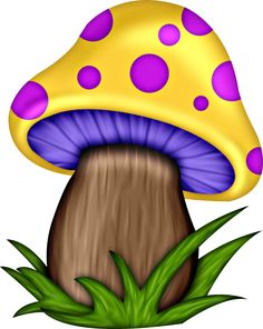 Mushrooms clipart animated. Cartoon pinterest mushroom and