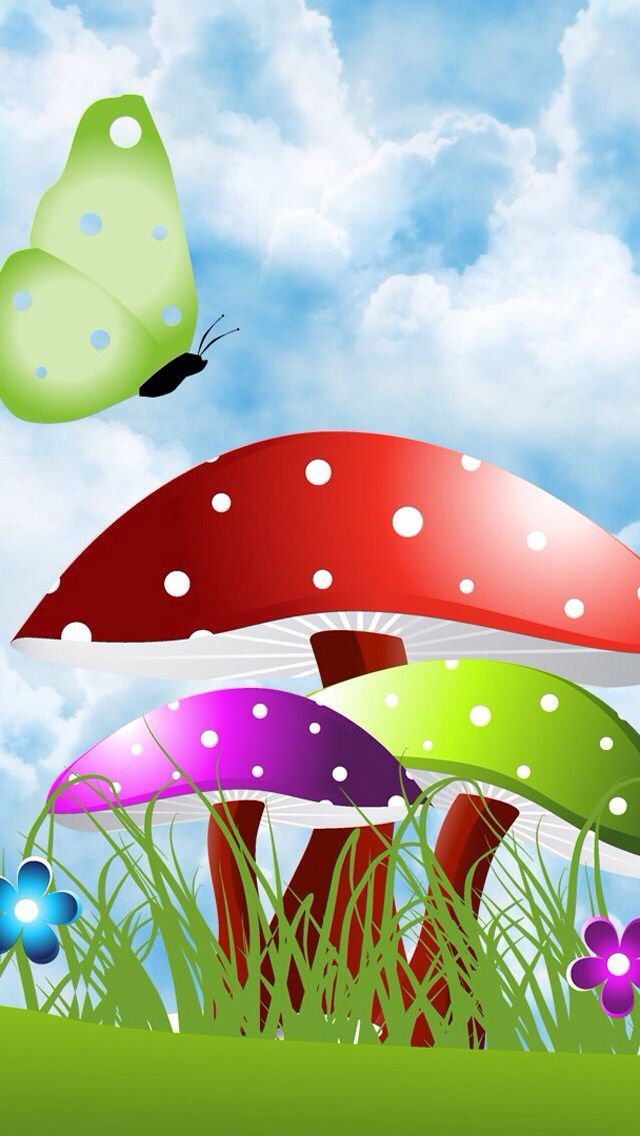 Mushrooms clipart wallpaper. Best images on