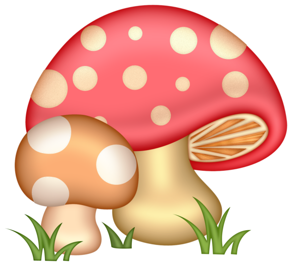 Mushrooms clipart woodland elf. Png clip art