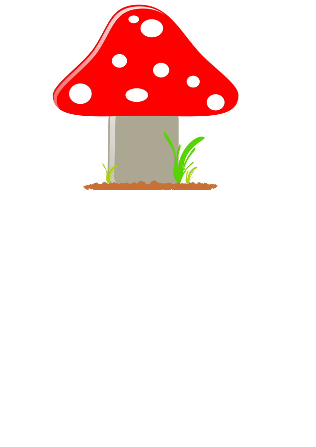 vector mushroom different