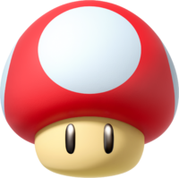 Mushrooms vector super mario mushroom. Wiki the encyclopedia mushroommariokartpng