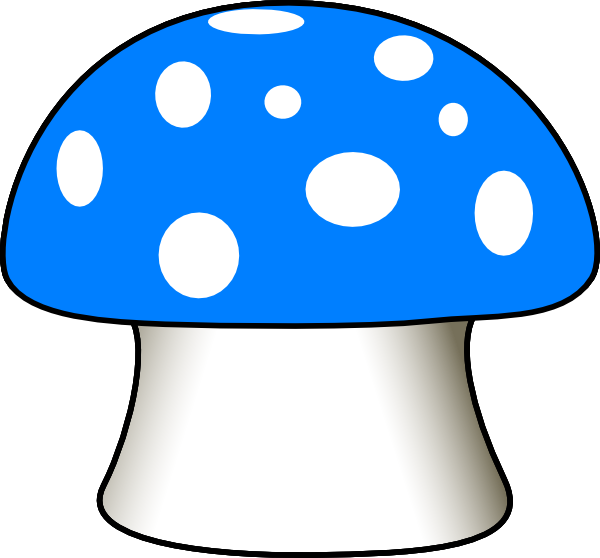 Mushrooms vector valentine. Collection of free colored