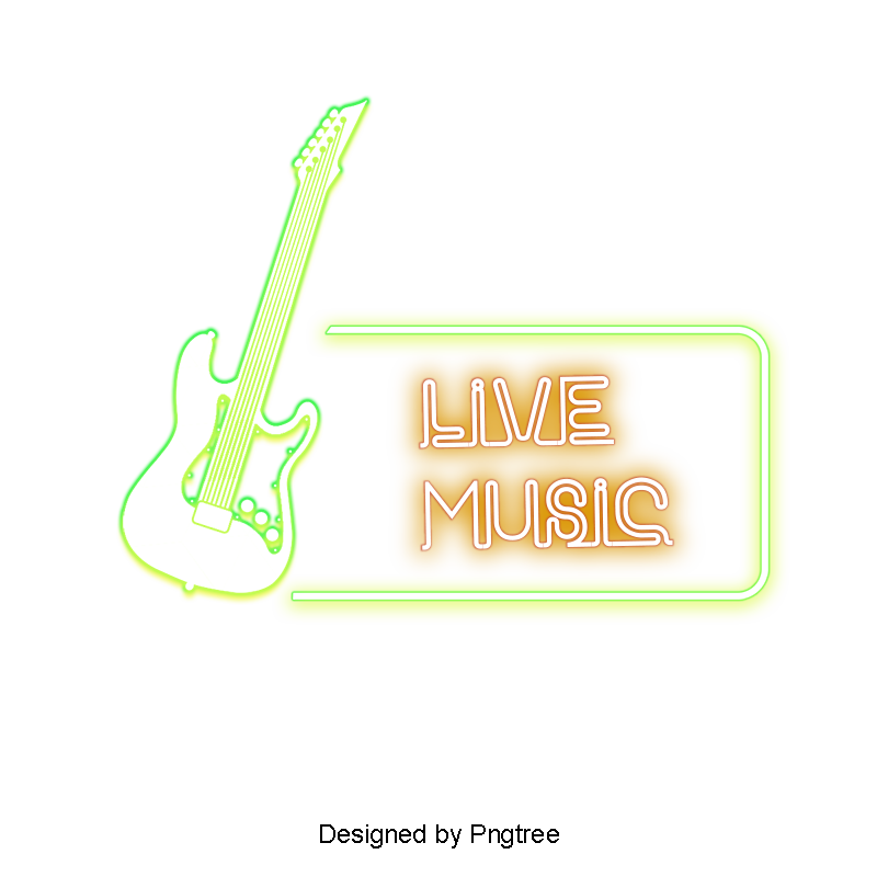 Model vector neon. Music bar light png