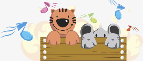 Music clipart elephant. Listening to tigers and