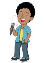 Music clipart microphone. Free clip art pictures