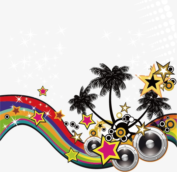 Music clipart music festival. Element vector png and