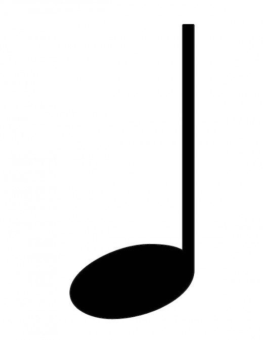 music clipart quarter note