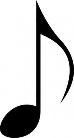 Music clipart quarter note. Projects to try pinterest