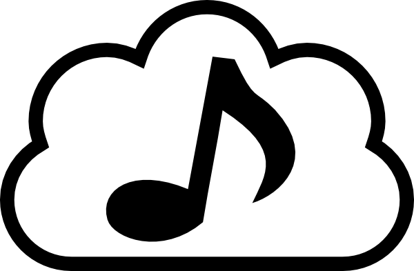 Music clouds png. Cloud clip art at