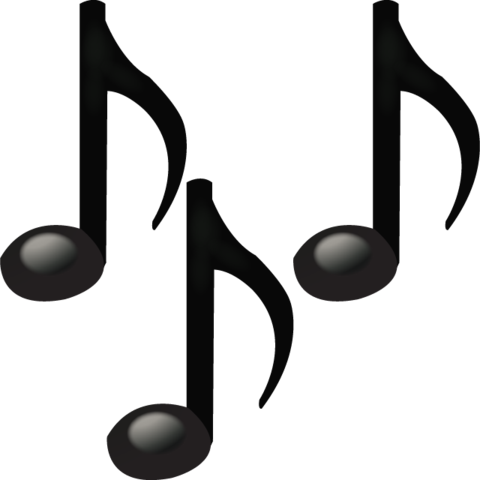 music notes emoji png