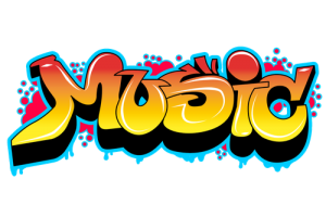 Music graffiti png. Image related wallpapers