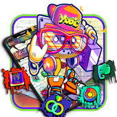 Music graffiti png. Dj for android apk