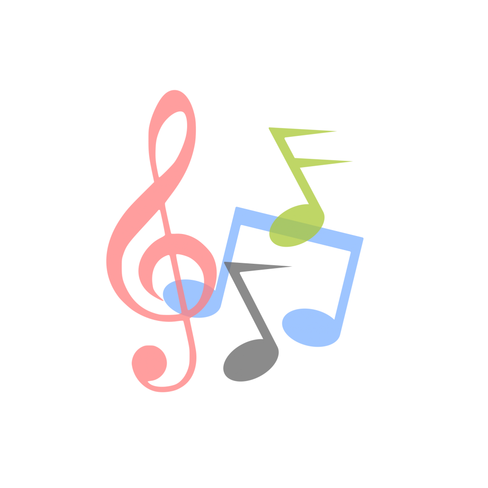 Music logo png. Notes symbols svg free