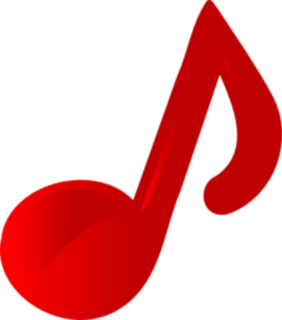 Music note clipart clear background. Download musical notes free