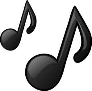 Music note clipart microphone. With notes panda free